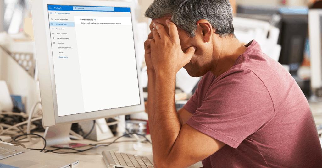 Emails seguros estão a ser erradamente considerados Spam pelo Outlook e Hotmail